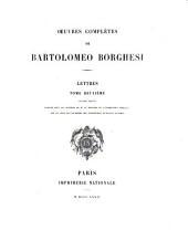 Oeuvres complètes de Bartolomeo Borghesi