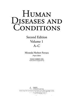 Human Diseases and Conditions PDF