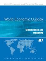 World Economic Outlook  October 2007 PDF