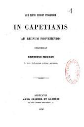 Quae partes fuerint episcoporum in Capetianis ad regnum provehendis disquirebat