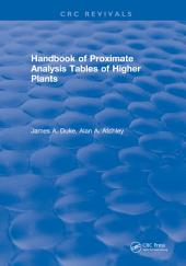 Handbook of Proximate Analysis Tables of Higher Plants