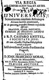 Via regia ad omnes scientias et artes