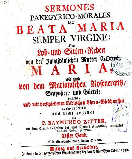 Sermones panegyrico morales de beata Maria semper virgine PDF