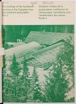 Proceedings of the ... Meeting of the Canadian Tree Improvement Association, Part 2
