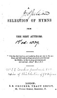 A Selection of Hymns   Compiled by Sir Edward Denny   PDF