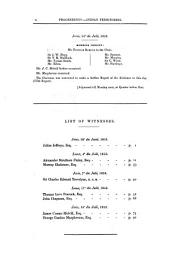 Parliamentary Papers: 1850-1908, Volume 28