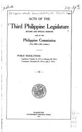 Laws of the First-Fifth Philippine Legislature ...: Issues 2288-2401