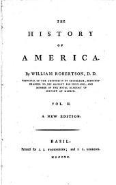 The History of America: Volume 2