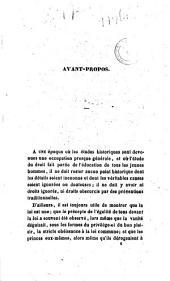 Des droits directs et éventuels des Bourbons d'Espagne de Naples et de Parme