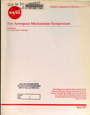 The 31st Aerospace Mechanisms Symposium