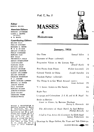 Masses and Mainstream PDF