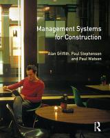 Management Systems for Construction PDF