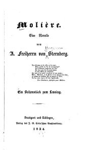 Molière, eine Novelle: ein Seitenstück zum Lessing von A. Freiherrn von Sternberg