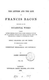 The Works of Francis Bacon: Volume 3