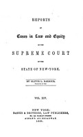 Reports of Cases in Law and Equity in the Supreme Court of the State of New York PDF