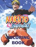 Naruto Shippuden Coloring Book