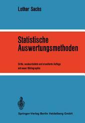 Statistische Auswertungsmethoden: Ausgabe 3