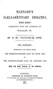 Hansard's Parliamentary Debates, Third Series: Commencing with the Accession of William IV