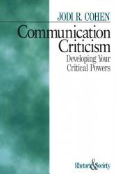 Communication Criticism Book PDF