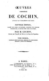 Oeuvres complètes: Contenant seize plaidoyers, mémoires et consultations relatifs a l'état des personnes, Volume1
