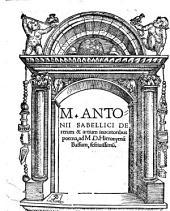 De rerum et artium inventoribus poema