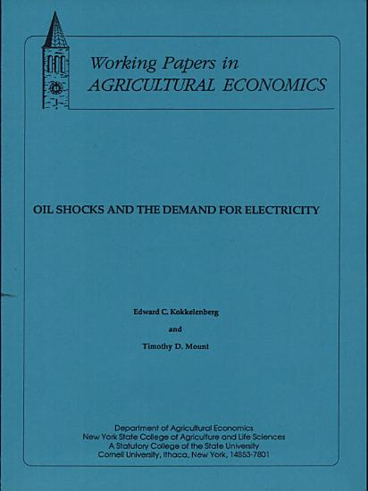 Oil Shocks and the Demand for Electricity PDF