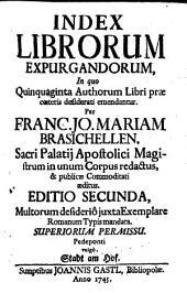 Index librorum expurgandorum