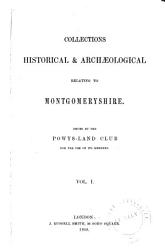 The Montgomeryshire Collections Book PDF