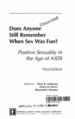 Does Anyone Still Remember when Sex was Fun?