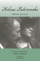 Helena Paderewska: Memoirs, 1910–1920