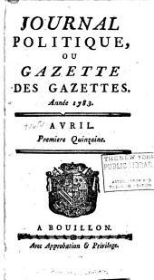 Journal politique: ou Gazette des gazettes