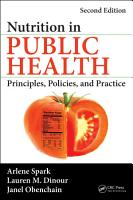Nutrition in Public Health PDF