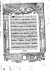 Aqui se contiene una disputa, o controversia: entre ... Bartolome de Las Casas ... y ... Gines de Sepulveda ..., sobre que el doctor contendia, que les conquistas de las Indias contra los Indios eran licitas, ...