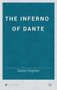 The Inferno of Dante Book