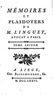 Mémoires et plaidoyers: Volume3