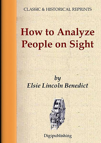 Download How To Analyze People On Sight Book