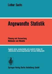 Angewandte Statistik: Planung und Auswertung - Methoden und Modelle, Ausgabe 4