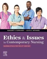 Ethics   Issues In Contemporary Nursing   E Book PDF