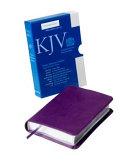 KJV Pocket Reference Edition KJ242 XR Purple Imitation Leather