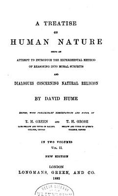 The Philosophical Works of David Hume