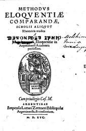 Methodus Eloquentiae comparandae