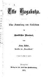 Etle Hagabutza: eine Sammlung von Gedichten in schwäbischer Mundart