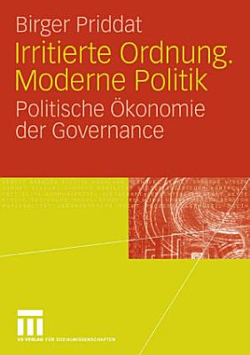 Irritierte Ordnung  Moderne Politik PDF