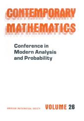 Conference in Modern Analysis and Probability