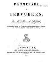 Promenade à Tervueren (éloge de Charles de Lorraine)