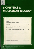 Progress in Biophysics and Molecular Biology PDF