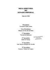 Anais do Senado do Império do Brasil: Volumes 1-2