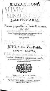 Iurisdictio Summi Tribunalis Regii Vismariae