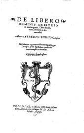 Martini Buceri de Libero arbitro... Cologne, 1542