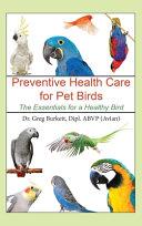 Preventative Health Care for Pet Birds